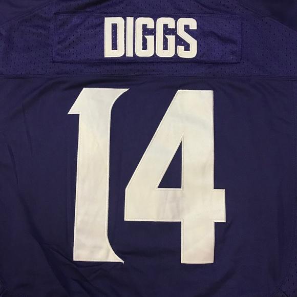new product 1877c bbf41 Minnesota Vikings Stefon Diggs Jersey Stitched